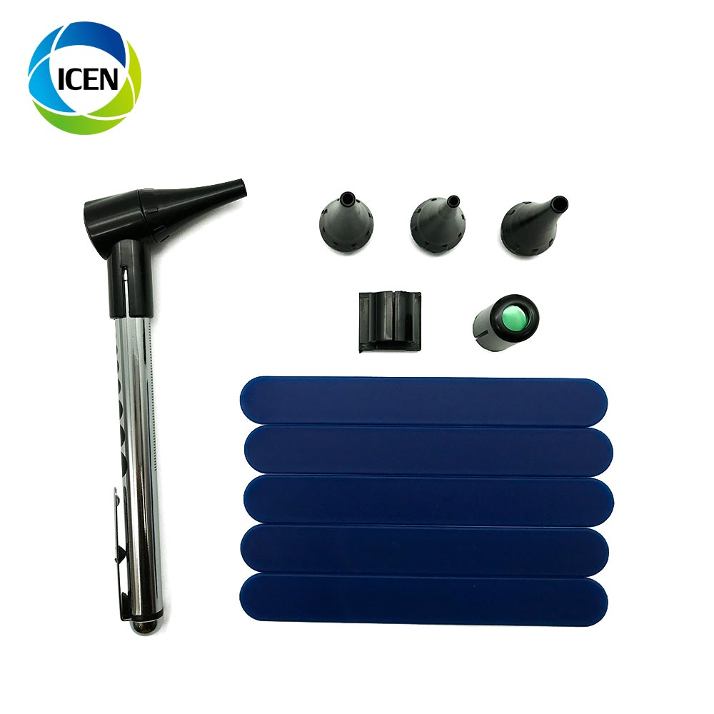 IN-G092 cheap penlight otoscope durable otoscopre ent diagnostic set for ear throat nose