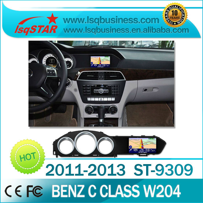 Android 4.0 Car DVD GPS for Mercedes-Benz C Class W204/C200 2011/2012 support Parking Track Display, 3G & WIFI for choice