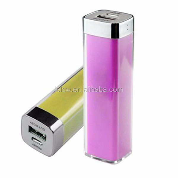 cheap mini 18650 battery power bank 2600mah