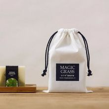 factory audit reusable small cotton muslin drawstring bag