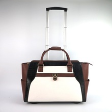 high quality Rolling trolley Carry-On Laptop Bag Womens Wheeled Briefcase manufacturer in guangzhou