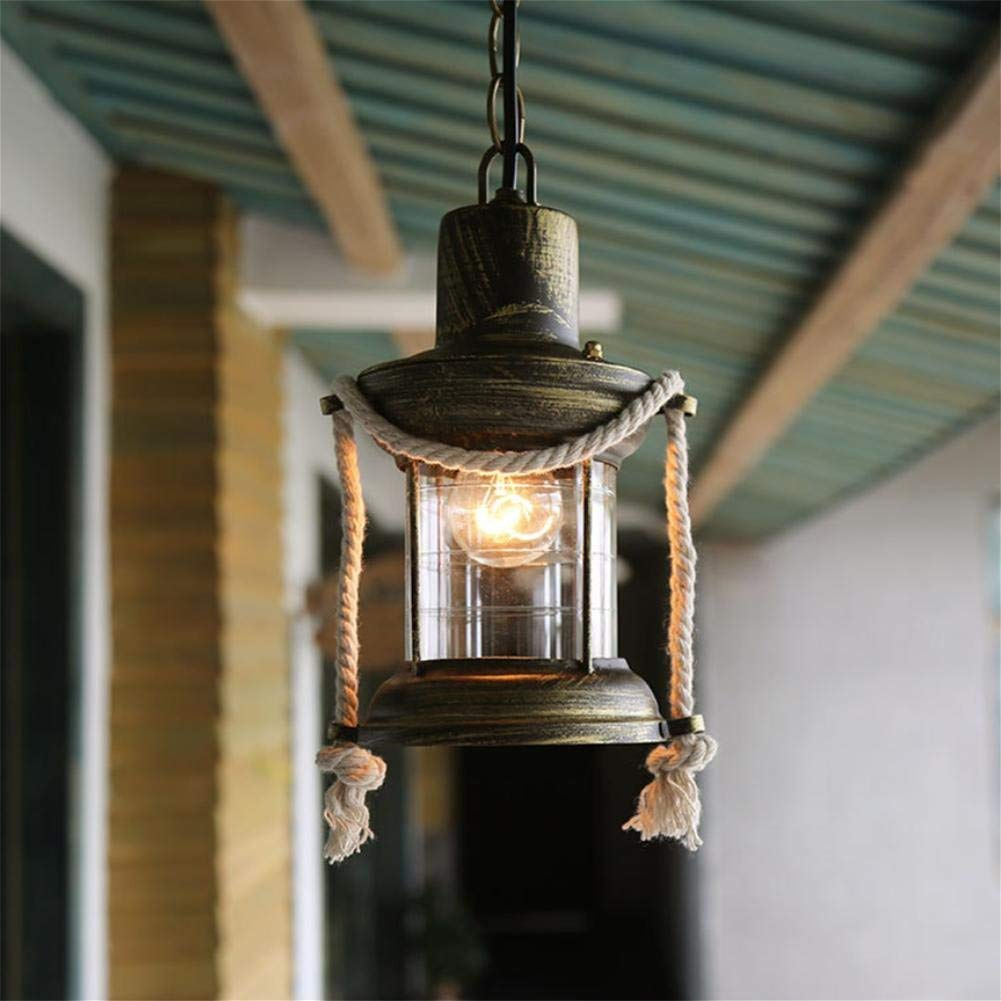 GLX Retro nostalgic chandeliers, loft chandeliers, iron chandeliers chandeliers 15CM 78CM
