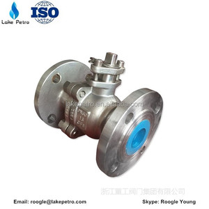 GB Manual dn 100 floating ball valve with high quality.