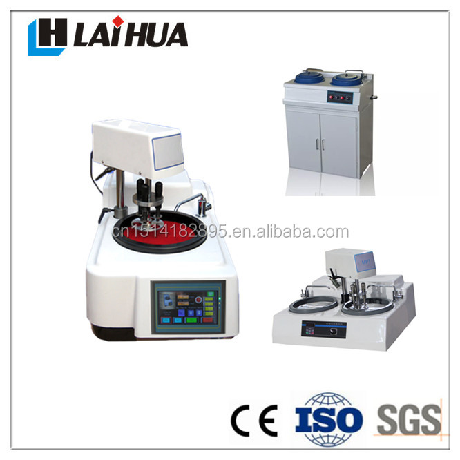 MPT METALLOGRAPHIC SPECIMEN GRINDING POLISHING MACHINE/half-automatic polishing and grinding heads