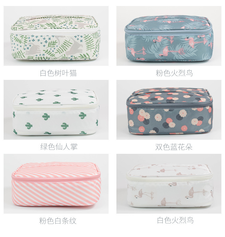2020 Amazon hot sale mini Makeup Bag Organizer Train Case new fashion custom Cosmetic Bags for Women
