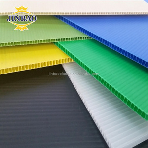 JINBAO PP corrugated extruded polypropylene sheet for floor protection