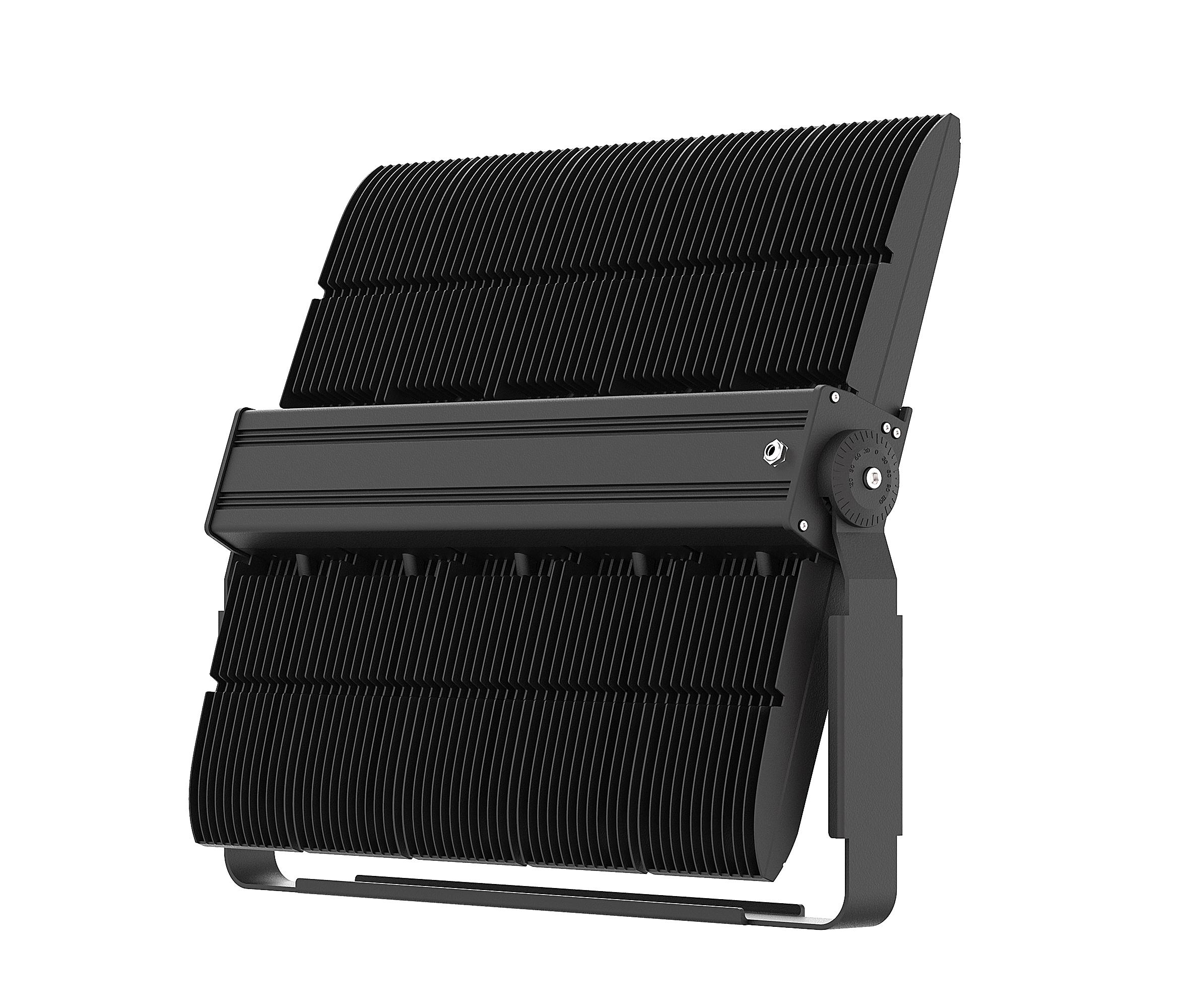 屋外エリア高マストプロの照明 400 ワット 500 ワット 600 ワット 800 ワット 1000 ワットモジュール LED フラッドライトフラッドライトライト