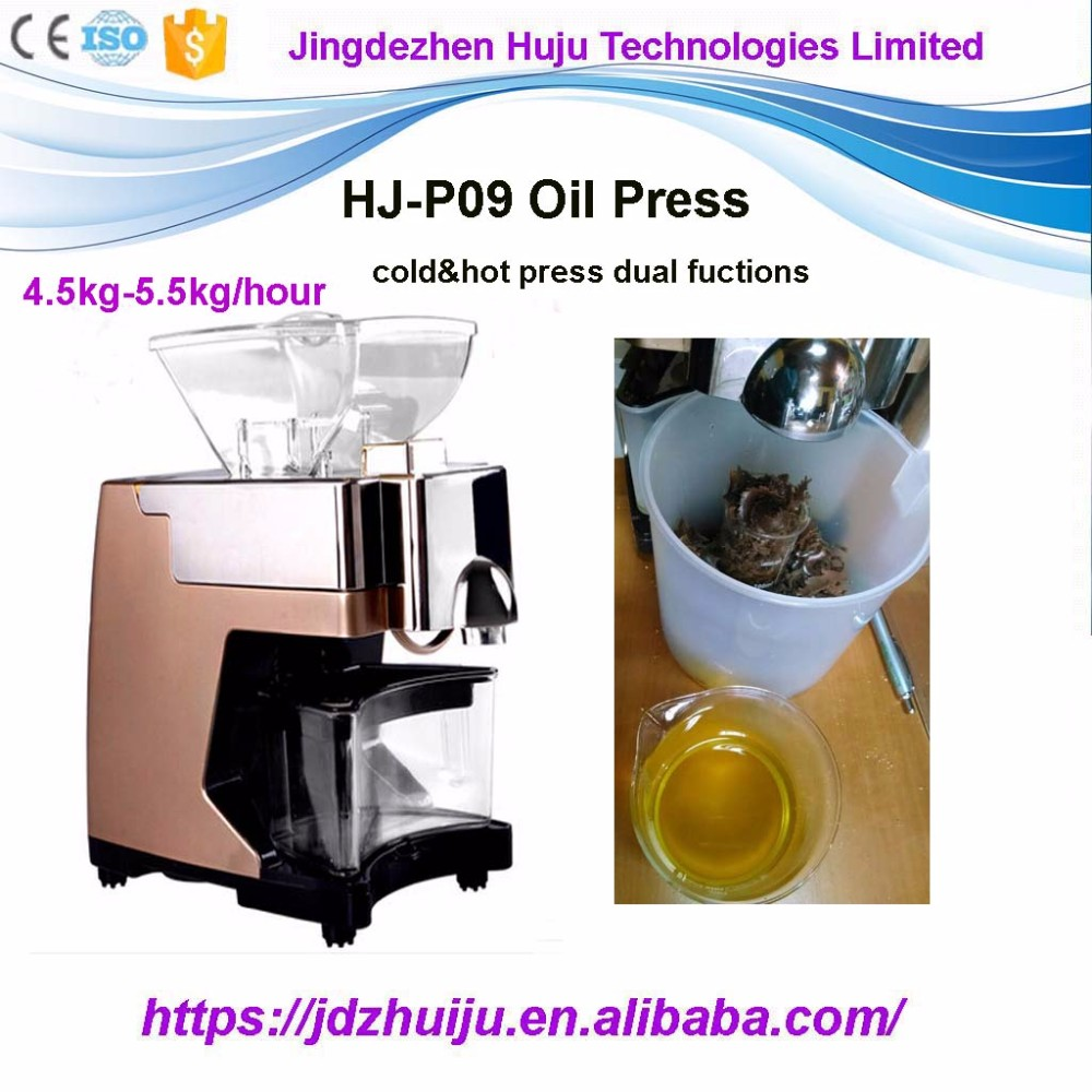 China Supplier Vegetable Oil Press / Seed Oil Extraction Machine ...