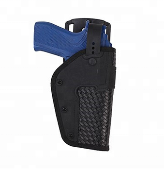 Police Duty Belt Accessory Tactical Basketweave Pistol Gun Holster