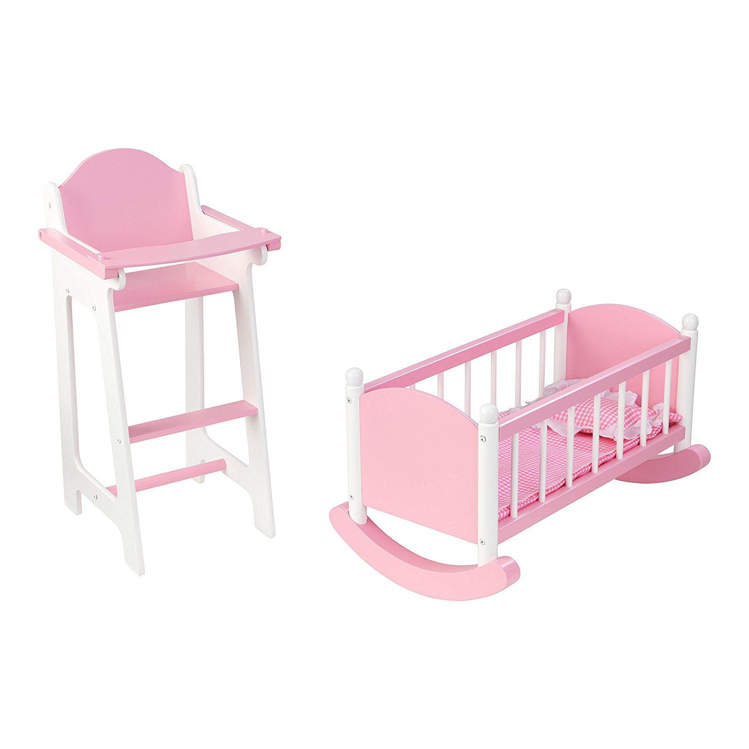 Buy KidKraft Darling Doll Furniture Set, Pink in Cheap Price ...