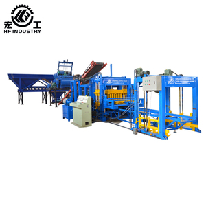 QT6-15 cement interlocking concrete paving block machine price at good quality high technology