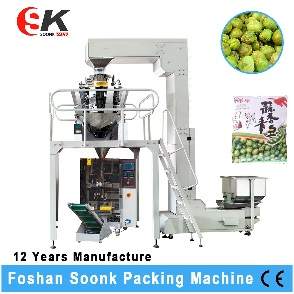 Weighing Scale Popcorn Potato Chips Small Packaging Machine