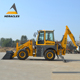 china made farm tractor with wheel backhoe loader with price