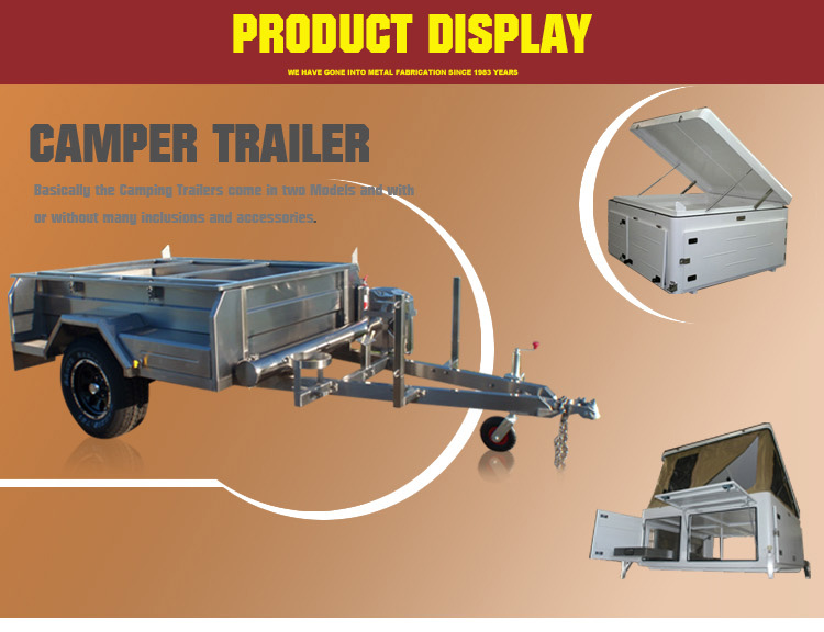 mini camper trailer,with custom service