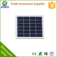 mono silicon wafers 5W solar panel material for mobile power charging