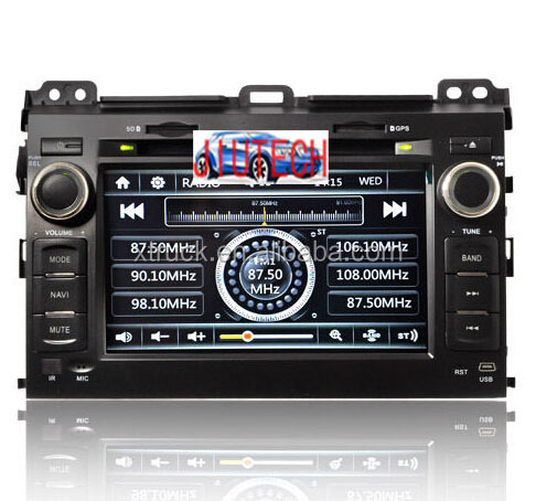 Car Stereo for Toyota Land Crusier Prado AutoRadio Multimedia GPS Navigation DVD