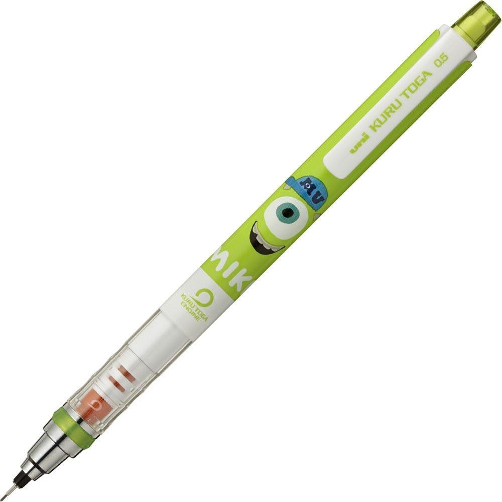 Get Quotations · Kurutoga Mechanical Pencil, limited edition, Disney  Monster's Inc. Mike