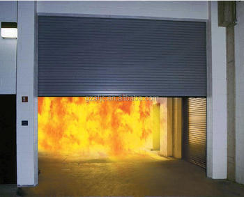 Good Performance Fire Roller Shutter Door, Fire Resistant Roll Up Doors