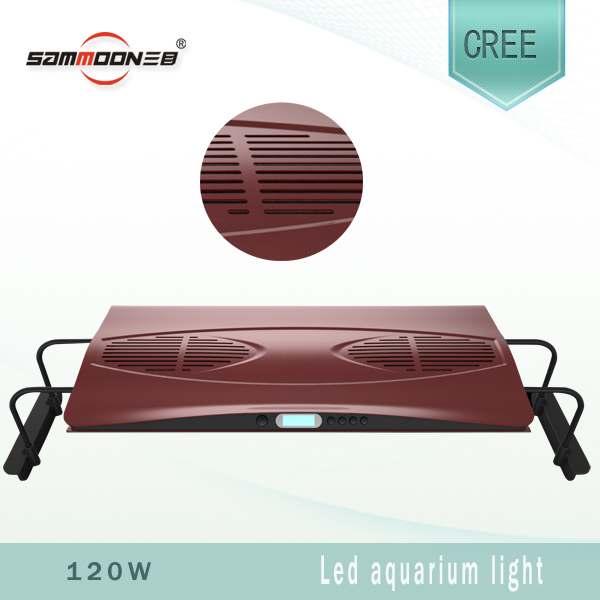 120W CREE marine quarium LED colorful lighting Dimmable 8000K- 16000K