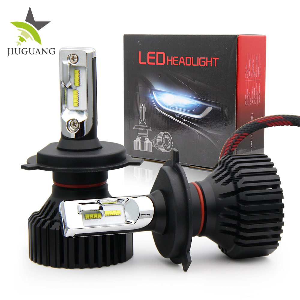 All In One High Low Feixe Levou Kit H4 Led Head Lamp H4 T8 H7 9005 Lâmpadas Led Carro levou Farol