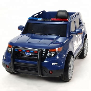 Ford Ranger Kids Police Battery Car Electric Cars For