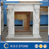 wholesale china white marble fireplace
