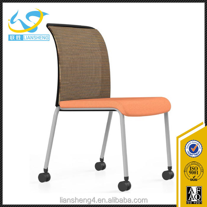 Foshan office chair manufacturer low price four legs office chair