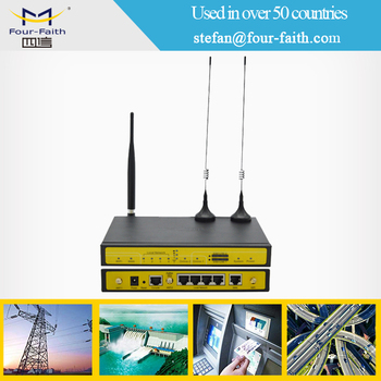 F3946 rugged m2m cellular industrial dual sim 4g lte router
