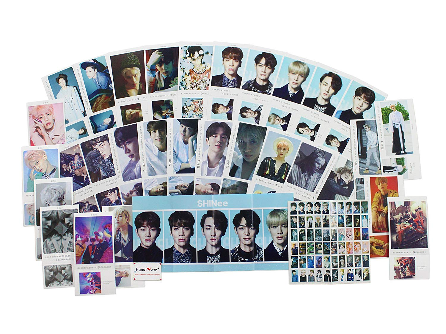 Buy Kpop 90s pieces package Poster card Photo card Polaroid photo