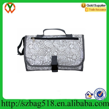Luxury Baby Changer Bag Portable Diaper Changing Kit Station