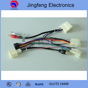 Magnificent Car Speaker Wiring Harness Made In China For Toyota Prado Buy Wire Wiring 101 Relewellnesstrialsorg