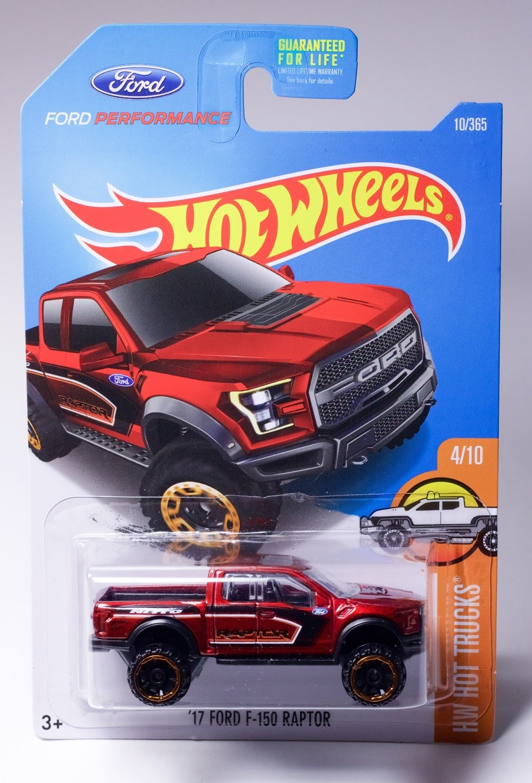 Hot Wheels 2017 Hw Trucks 17 Ford F 150 Raptor