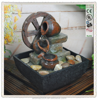 FineLife Products Indoor Feng Shui Tranquility Portable Fountain