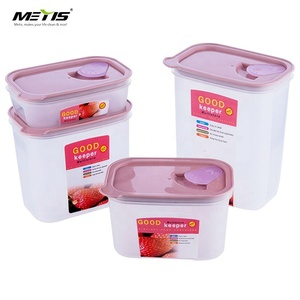 trade assurange A4013 PP material stackable plastic large storage box set