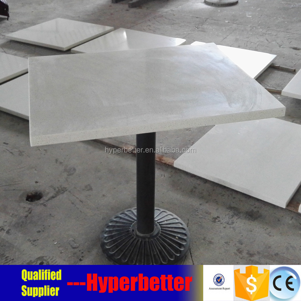 White Quartz Table Top Square With Wrought Iron Table Leg   Buy Quartz  Table Top With Wrought Iron Table Leg,Quartz Table Top Square,White Quartz  ...