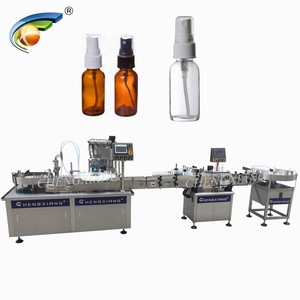 CHENGXIANG BRAND spray filler capper and labeling machine
