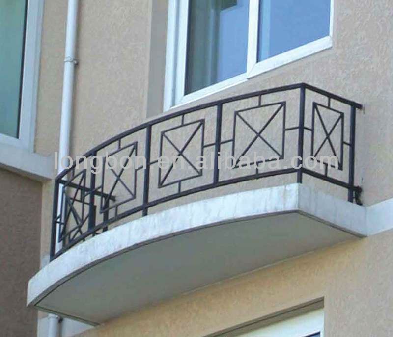 Top Selling Modern Artistic Welded Balcony Fence View