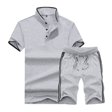2018 meest populaire zomer fashion casual <span class=keywords><strong>polo</strong></span> shirts en shorts trainingspakken custom groothandel beste prijs