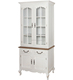 French Style Luxury White Wooden Carving Buffet Cupboard Cabinet / Royal Palace Home Decorated Sideboard Cabinet