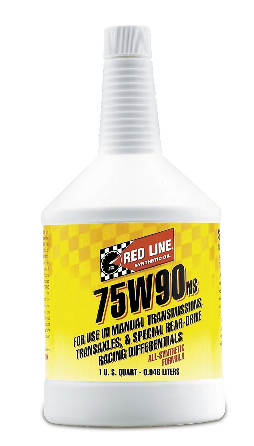 Red Line 58304 (75W90) Non-Limited Slip Synthetic Gear Oil - 1 Quart (Pack of 4)