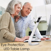 Eye Protection LED Desk Lamp USB Rechargeable Logo Light