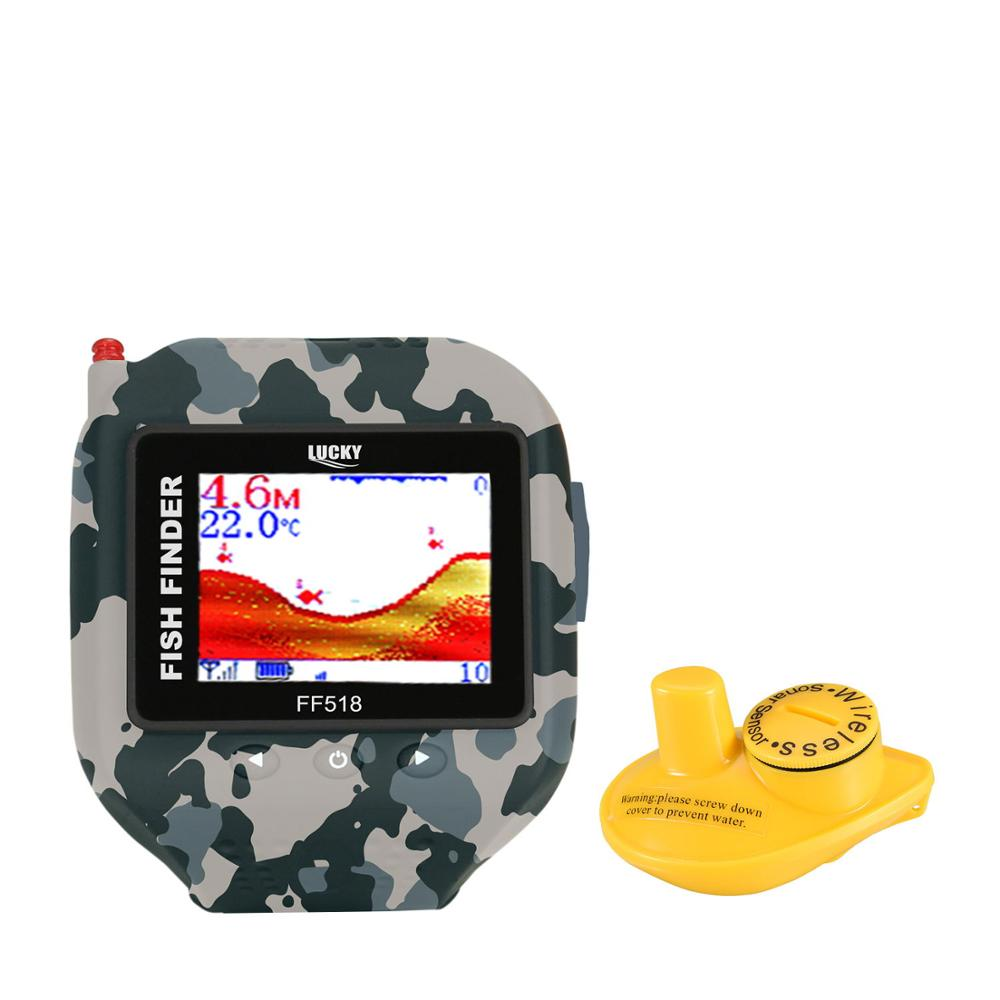 Lucky Rambo Snow FF518 New camouflage series wireless sonar sensor wearable cool popular gifts watch fish finder