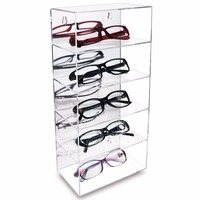 Manufacturer Fashion Acrylic Eyeglass Frame Display Rack Sunglass Display Stand