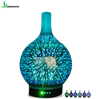 Portable Hot Selling 7 led light electric ultrasonic Aroma Diffuser