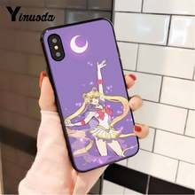 Yinuoda Сейлор Мун популярный эстетический красивый чехол для телефона для iPhone 8 7 6 6S 6Plus X XS MAX 5 5S SE XR 10 11 11pro 11promax(Китай)