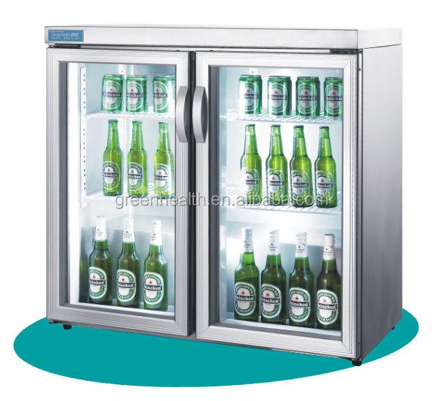 Greenhealth Single Glass Door Beer Cooler Stainless Steel Used
