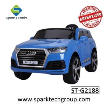 Audi Suv Q7 >> Lisansli Audi Q7 Suv Elektrikli Oyuncak Araba Pil Akulu Araba Binmek