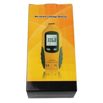 HT-M2 Portable Digital LCD Backlight Microwave Leakage Radiation Detector Oven Gas Leakage Tester