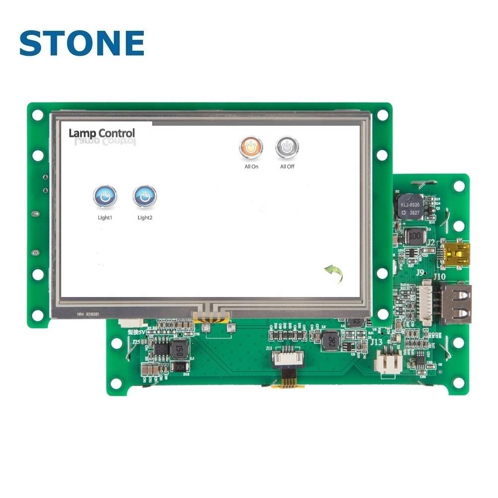 STONE 4 3 Inch HMI TFT Module Touch Panel Dot Matrix LCD Display