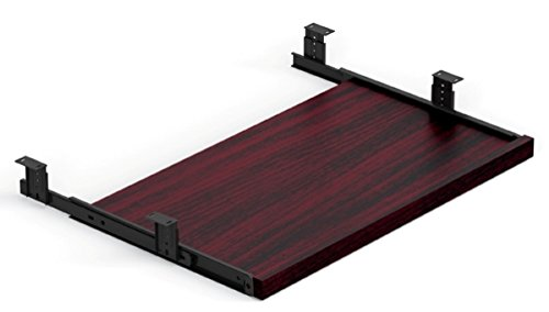 """Offices To Go Keyboard Tray 22 5/8"""" X 13"""" X 11/18 Front Durable 3Mm Pvc """"Super Edge"""" - American Mahogany"""
